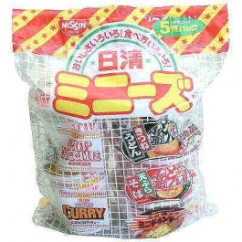 1 box Minizu Nissin Nissin (Food 30: × 6 pack diet 5)