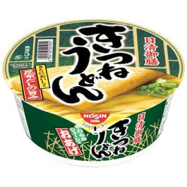 Nissin Foods Inc. gozen udon QHK 1 box 20241 ( food 80 g x 12 pieces )