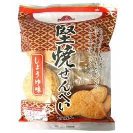 TOPVAL Hard Rice Cracker Soy sauce flavored (10 pieces)