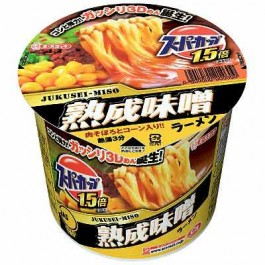 ACE Cook Supercup 1.5 times the miso ramen (12 meals into) one box