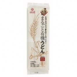 Udon 300g 1 bag organic whole golden earth Hakubaku