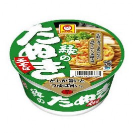 101g 1 set of green raccoon soba east Maruchan Toyo Suisan Kaisha, Ltd. (Pack of 24: Pack of 12 x 2 Box)