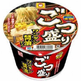 Wonton noodles soy sauce 117g 1 serving Gotsu Maruchan Toyo Suisan Kaisha, Ltd. set (Pack of 24: Pack of 12 x 2 box)