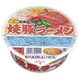 1 box pork ramen food Sanpo Foods (pack of 12)