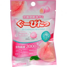 Eliminate hunger Gummy Stop hungry Gummy Peach (30g)