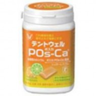 Taisho Seiyaku DENTWELL POs-Ca Sugarless gum 【Citrus Lime】 (142g) 【Food for Specified Health Uses】